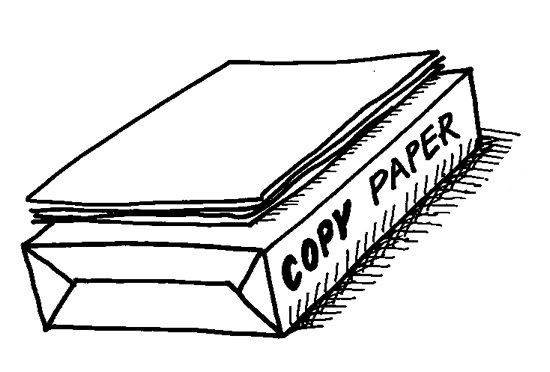 The difference between laser copy paper and regular copy paper