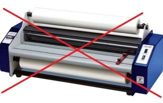Lamination without laminator