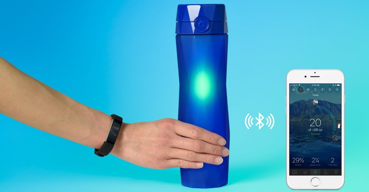 What Are Smart Water Bottles?