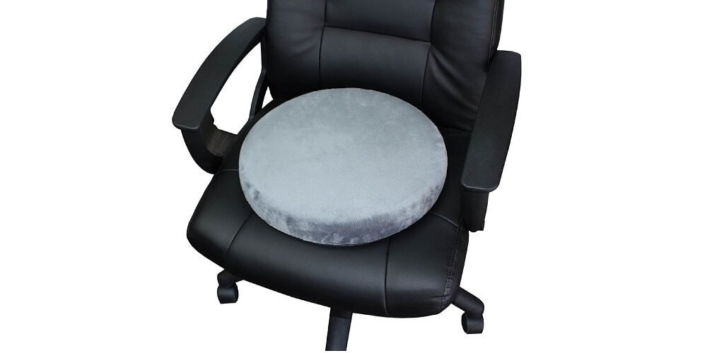 Swivel Seat By Vive - Seat Cushion Pivots - orthopedic help with pain relief