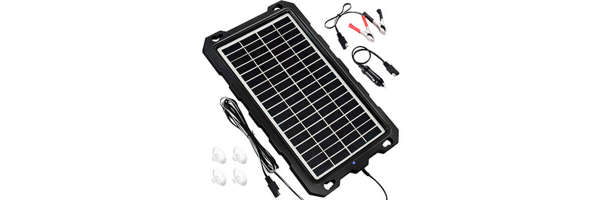POWOXI Solar Battery Chargers 7.5w-B