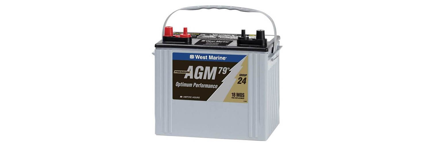 What is AGM battery service life?