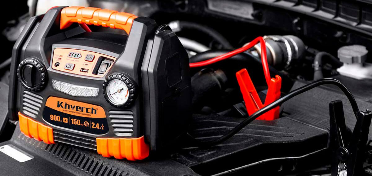 7 Best Jump Starters With Air Compressor