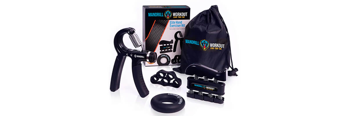 Mandrill Hand Grip Strength Trainer Set