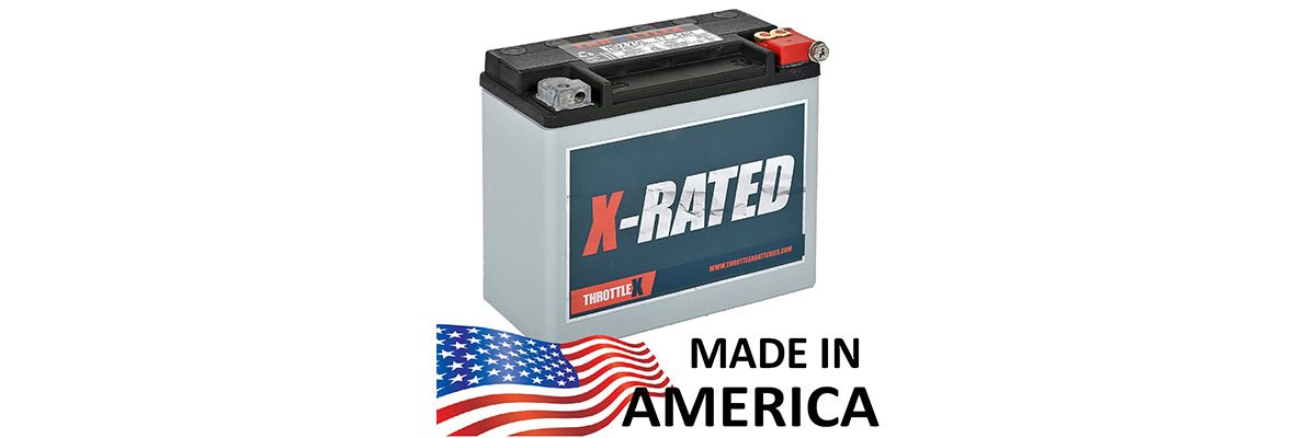 ThrottleX Batteries HDX20L